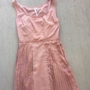 LC Lauren Conrad polka dots sleeveless dress Sz 10